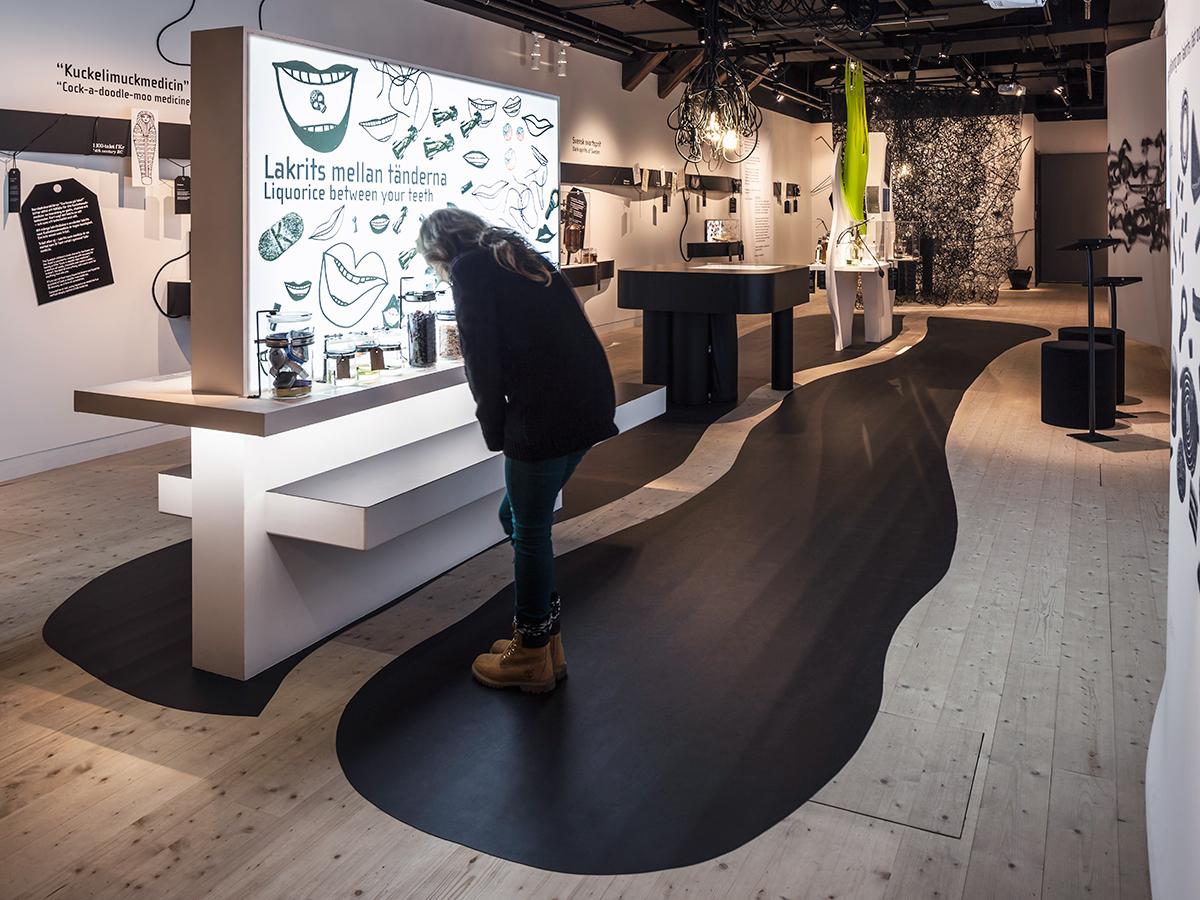 Utställning om Lakrits på Spritmuseum I Stockholm