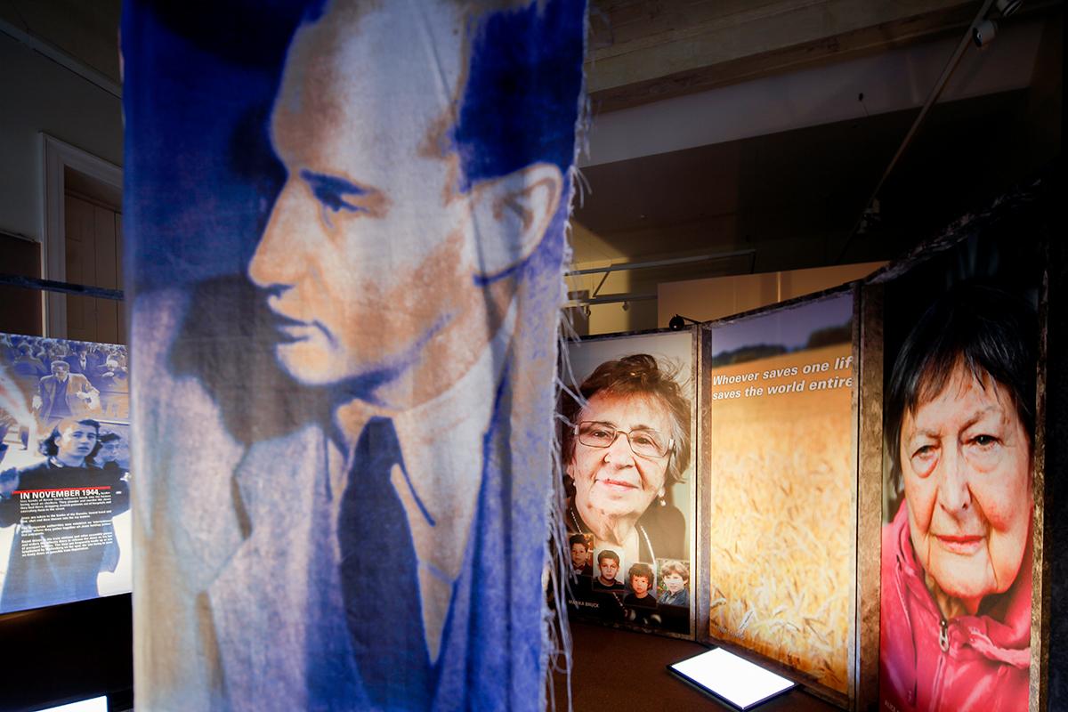 Utställningsformgivning Raoul Wallenberg